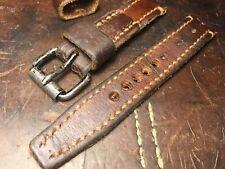 Handmade 20mm Vintage Swiss Ammo watch strap.