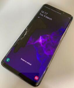 Samsung Galaxy S9 Plus 128GB Midnight Black Unlocked Our Ref: TRG89913