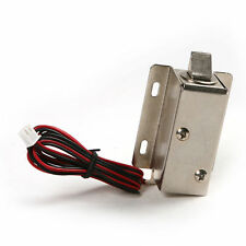 DC 12V Electric Solenoid Lock Tongue Upward Assembly Door Cabinet Drawer ASS