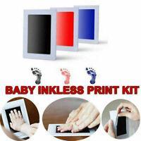 Inkless Wipe Baby Hand Foot Print Kit Keepsake Newborn Footprint Handprint Keeps