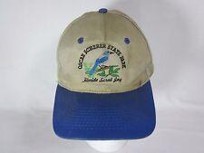 Distressed Hat Dad Cap Oscar Scherer State Park Florida Bird Snapback Adjustable