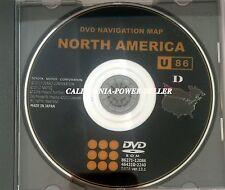 Genuine TOYOTA U86 GENX5 North America Navigation DVD 13.1 GPS ROAD MAP UPDATE