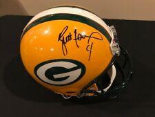 Brett Favre Green Bay Packers autographed authentic FULL SIZE helmet w/ COA