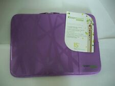 "30 X 15"" TABLET SLEEVE GREENSMART NEOGREENE IPAD MACBOOK FULL of CASE PURPLE NWT"