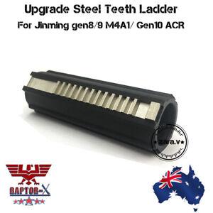 Upgrade Metal 13 Teeth Piston For JM Gen 8 Gen 9 M4A1 Gen 10 ACR Gel Blaster AU