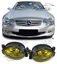 YELLOW FOG LIGHTS FOR MERCEDES W204 W164 W463 C209 W169 W211 SL R230 CLK W209