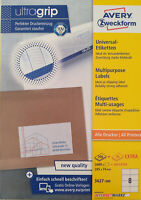 AVERY Zweckform 3427 Etiketten Internetmarke 105 x 74 mm weiß,Menge nach Auswahl