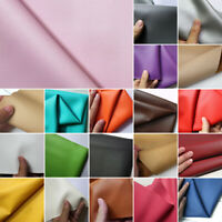 Faux Synthetic PU Leather Fabric Leatherette Sheet For Bag & Craft 140*50cm New