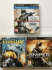 Ghost Recon 2+Ghost Recon+HAWX+Sniper Ghost Warrior (PS3 Game Bundle)616