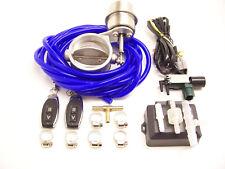 RSR Klappenauspuff 76mm Unterdruck OFFEN + Fernbedienung 3 Abgas Klappen System