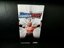 WWE Smackdown Vs Raw 2007, Sony PSP Game Manual, Trusted Ebay Shop