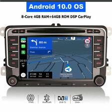Android 10.0 Car DVD Radio GPS SAT Navi for VW SEAT Altea Toledo Leon SKODA Yeti