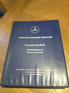 Mercedes Werkstatthandbuch Dieselmotoren OM636 OM621 1959