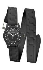 Guess w65023l2 Micro Mini Women's Watch Black with Wraparound