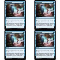 4 x UNSUMMON NM mtg Hour of Devastation Blue - Instant Com