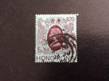 Hongkong Freimarke Queen Elizabeth II, MiNr. 402 gestempekt