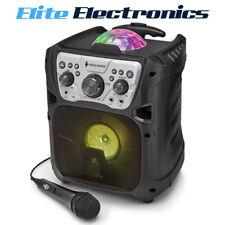 Singing Machine Mini Fiesta Bluetooth Portable Speaker SML640