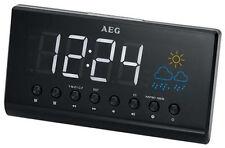 2205394 AEG MRC 4141 P - Radiosveglia Nero
