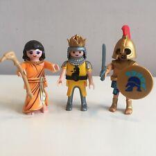 Playmobil Figures King Warrior Sorcerer Figure 3 Figures Toys Play Mobil