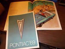 1969 Pontiac Deluxe Full-line Sales Catalog / Excellent To near-MINT condition