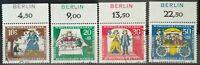 "Berlin 1966 Froschkönig Oberrand  Aufdr. Berlin Mi.Nr: 295-8 Gestempelt ""Bremen"""