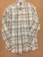 Gap Premium Quality Men's Slim Fit Long Sleeve Button Down Shirt Large-PERFECT