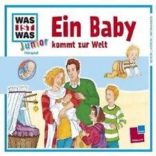 """WAS IST WAS JUNIOR """"EIN BABY KOMMT ZUR WELT"""" CD NEU"""