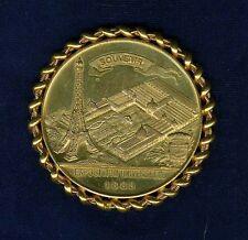 "FRANCE PARIS  1889  BRONZE ""SOUVENIR"" MEDAL, INTERNATIONAL UNIVERSAL EXPOSITION"