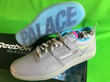 Palace Skateboards x Reebok Club Workout Mens Shoes Size 10.5 Grey NEW In Hand