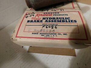 F6086 Brake Master Cylinder 1950-54 NASH 1950-51 WILLYS CJ