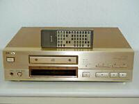 Sony CDP-X777ES High-End CD-Player Champagner mit FB, 2 Jahre Garantie