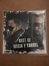 The Best of Wisin Y Yandel Greatest Hits Reggaeton Latin Mixtape Spanish CD Mix