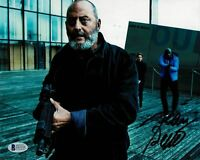 JEAN RENO SIGNED 8X10 AUTOGRAPH BAS, Léon:The Professional ,Mission: Impossible,