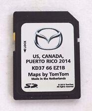 OEM Mazda Navigation SD CARD U.S Canada PR Map  2014 2015 CX5 / CX-9