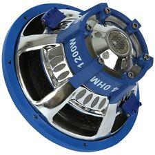 "SUBWOOFER PYLE PLBW124 DVC 4+4 OHM 1200 WATT MAX 12"" 30 CM DOPPIA BOBINA DVC SPL"