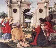 Metal Sign Francesco Di Giorgio Martini Nativity 1490 A4 12x8 Aluminium