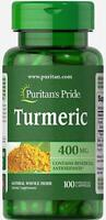 Puritans Pride Turmeric 400 mg Capsules, 100 Count (free shipping)