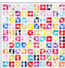 Colour Squared - simple pieced quilt PATTERN -  Creative Cards mini PATTERN