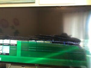 "Sony BRAVIA KDL48W600B 48"" (Broken LCD Screen)"