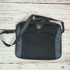 "Swiss Gear Laptop Bag Black 18"" Padded Carry Case Luggage"