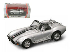 1964 SHELBY COBRA 427 S/C SILVER 1/43 DIECAST CAR MODEL BY ROAD SIGNATURE 94227
