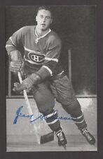 1964-65  MONTREAL CANADIENS POSTCARDS   JEAN BELIVEAU   INV  J7255