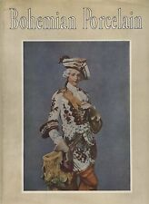 Bohemian Porcelain - History Types Makers Marks Photos / In-Depth Scholarly Book