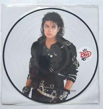 Michael Jackson Bad LP fotodisco color UK edición 25 aniversario funda PVC