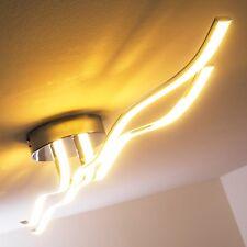 Plafonnier Design Moderne Lustre LED Lampe à suspension Luminaire Chrome 135686