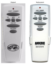 Hampton Bay Replacement Ceiling Fan Remote Control for UC7078T with Reverse