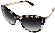 ac0ea089a893 Dolce   Gabbana Sunglasses Women Brown Havana Gold Cat Eye Dg4243 28888g