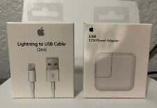 Original 12W USB Power Adapter Wall Charger for Apple iPad 2 3 4 Air & 2M Cable