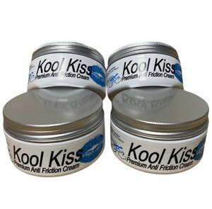 4 x 200gm pots Kool Kiss,Anti Friction,Chafing,Chamois,Personal Care Cream
