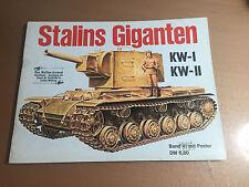 WAFFEN-ARSENAL BAND 41 - STALIN GIGANTEN KW-I, KW-II